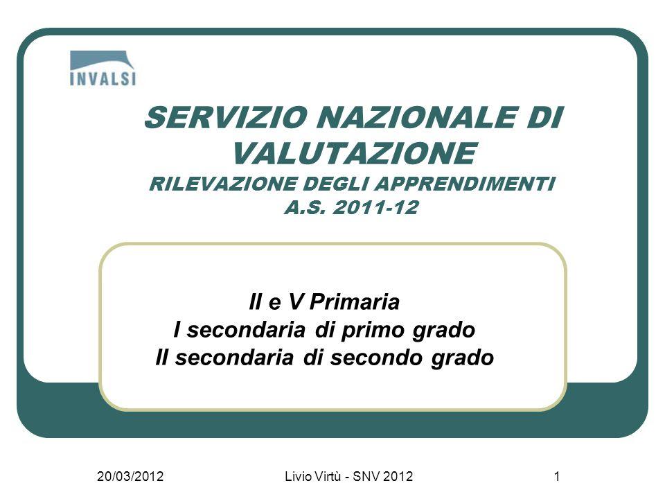 20/03/2012 Livio Virtù - SNV 2012 2 Il mandato: la legge Art.