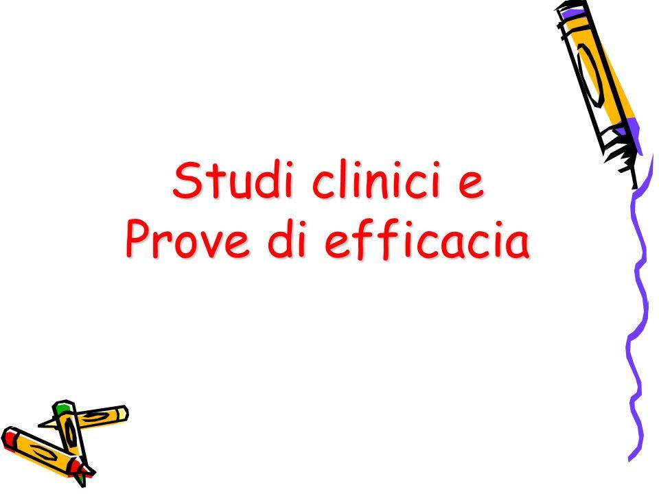 MODELLO DI SACKETT (1996) 1.Formulazione del quesito clinico 2.