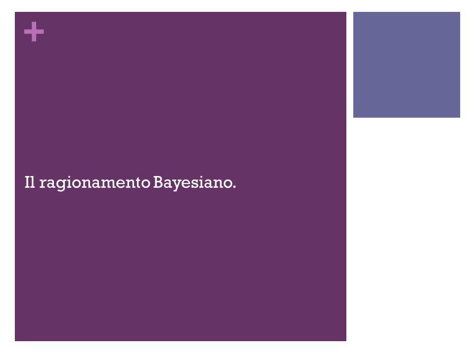 + Il ragionamento Bayesiano.