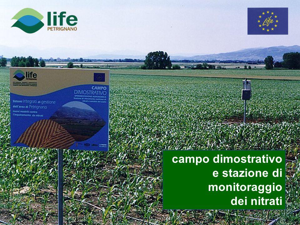 campo dimostrativo e stazione di monitoraggio dei nitrati