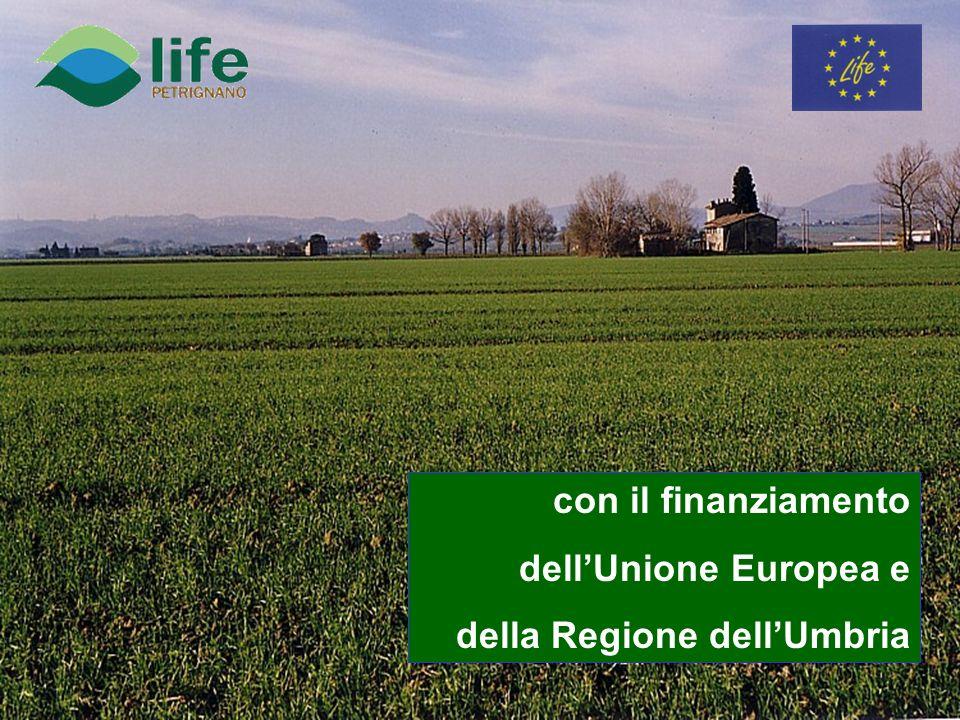 con il finanziamento dellUnione Europea e della Regione dellUmbria