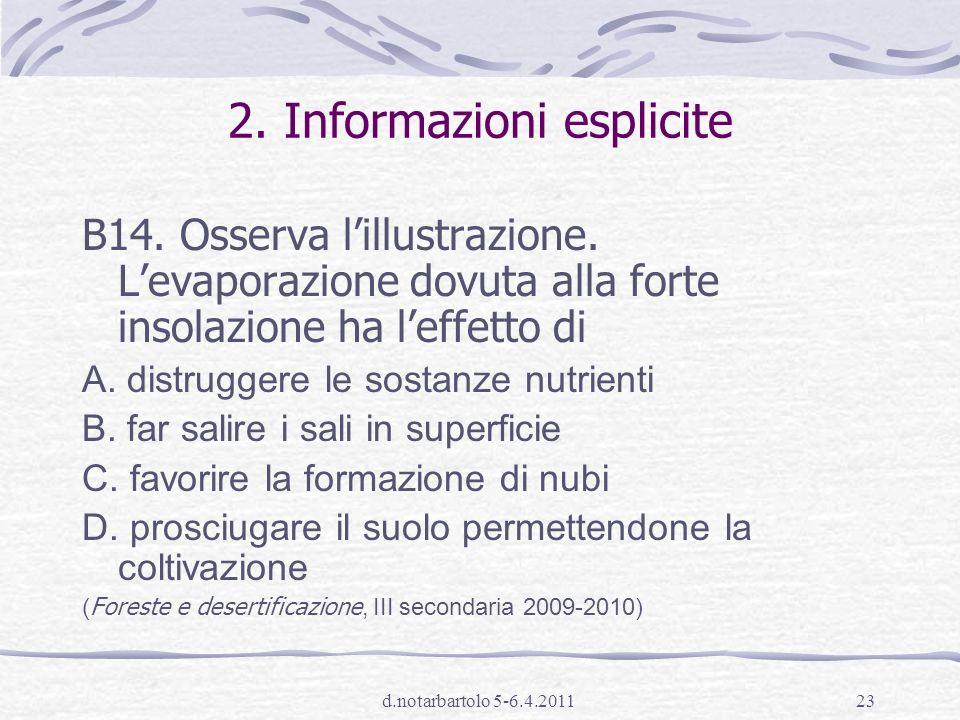 d.notarbartolo 5-6.4.201122 1.Significato di espressioni B9.