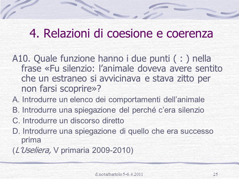 d.notarbartolo 5-6.4.201124 3.Inferenza diretta A4.