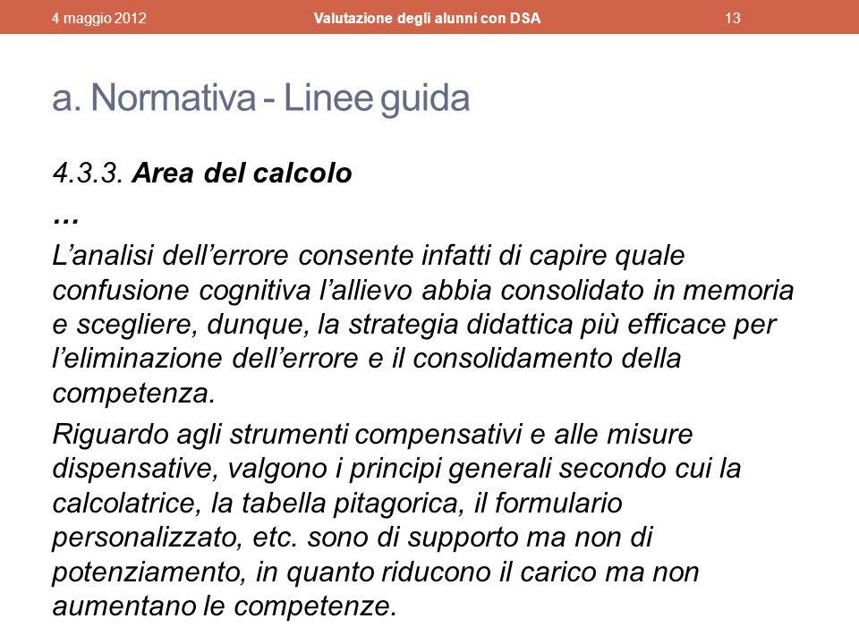 a.Normativa - Linee guida 4.3.3.