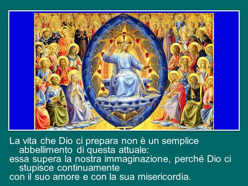 E questo è il legame decisivo, lalleanza fondamentale, lalleanza con Gesù: Lui stesso è lAlleanza, Lui stesso è la Vita e la Risurrezione, perché con
