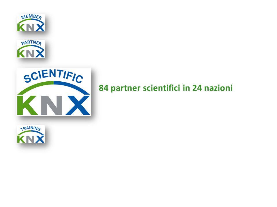 84 partner scientifici in 24 nazioni