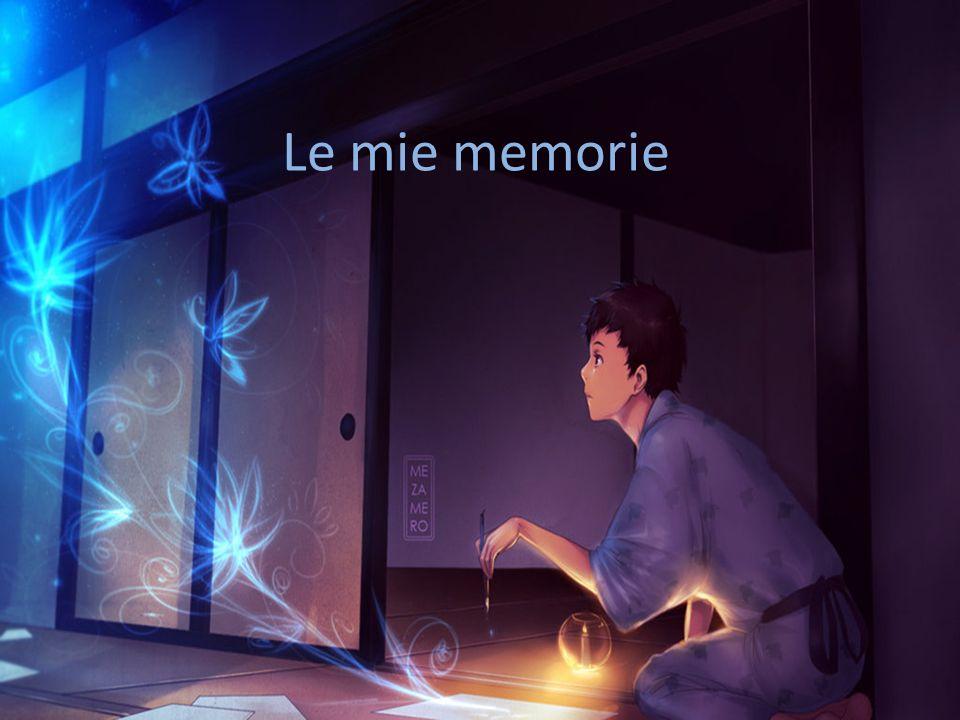 La memoria esiste per emergere: senza il ricordo la memoria perde di utilità e significato.