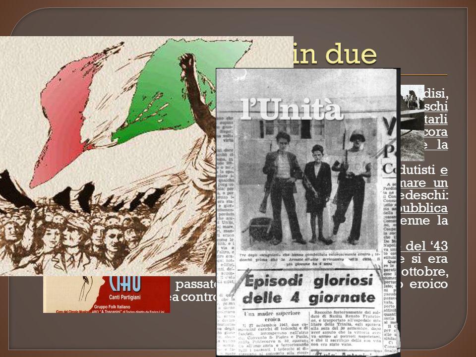 Quella stessa notte, il re, Badoglio e la corte fuggirono a Brindisi, lasciando il Paese e i militari senza comando.