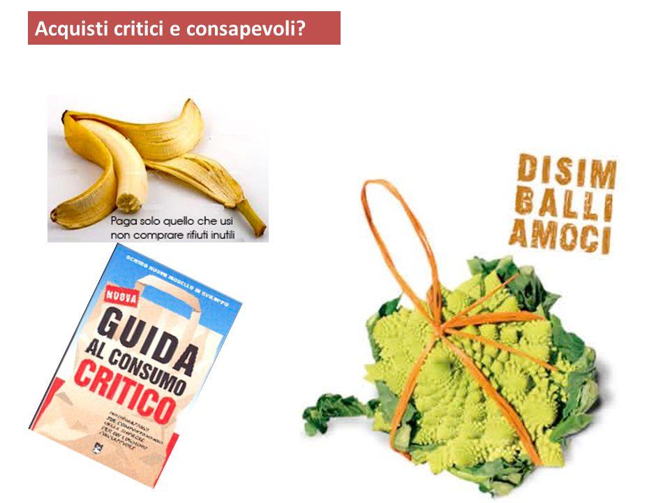 Acquisti critici e consapevoli