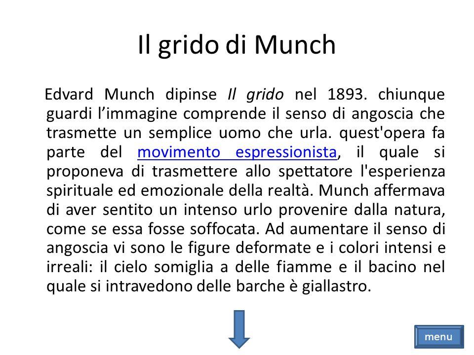 Il grido di Homer.Il grido di Munch. menu
