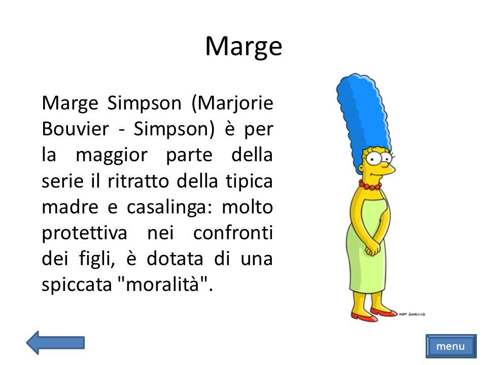 Bart menu Bart Simpson (Bartholomew Jojo Simpson) è un bambino di dieci anni furbo e insofferente alle regole: ama lo skateboard, e adora la TV.