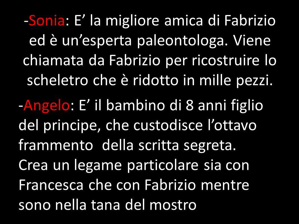 Trama:Nel museo etrusco di Volterra l archeologo Fabrizio Castellani è impegnato in una ricerca sui tesori dell antico popolo etrusco.
