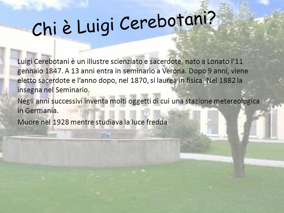 Chi è Luigi Cerebotani.