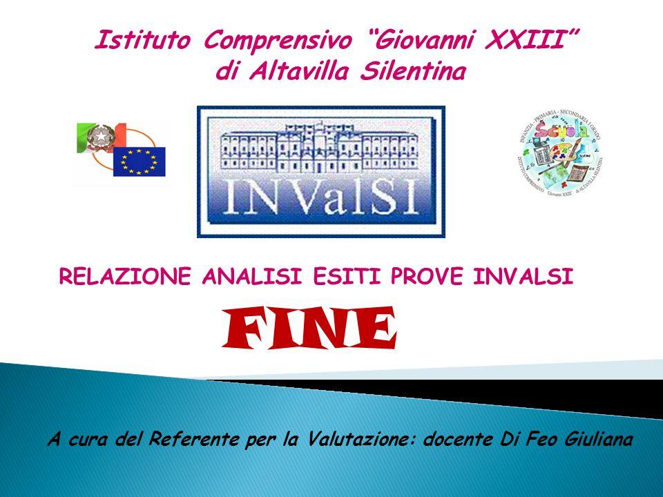 I.C. ALTAVILLA SILENTINA Esiti Prove INVALSI a.s.2009/2010 52