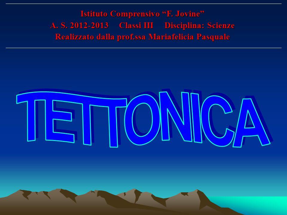 Istituto Comprensivo F. Jovine A. S. 2012-2013 Classi III Disciplina: Scienze Realizzato dalla prof.ssa Mariafelicia Pasquale