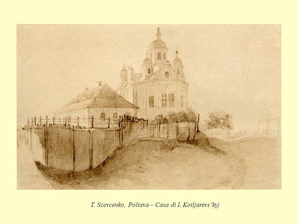 T. Scevcenko, Poltava – Casa di I. Kotljarevskyj