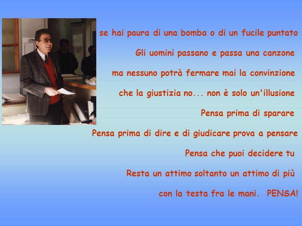 FRANCESCO MARCONE era un onesto dirigente degli Uffici Statali di Foggia che ha portato legalità e giustizia nella nostra città, anche a costo della propria vita.