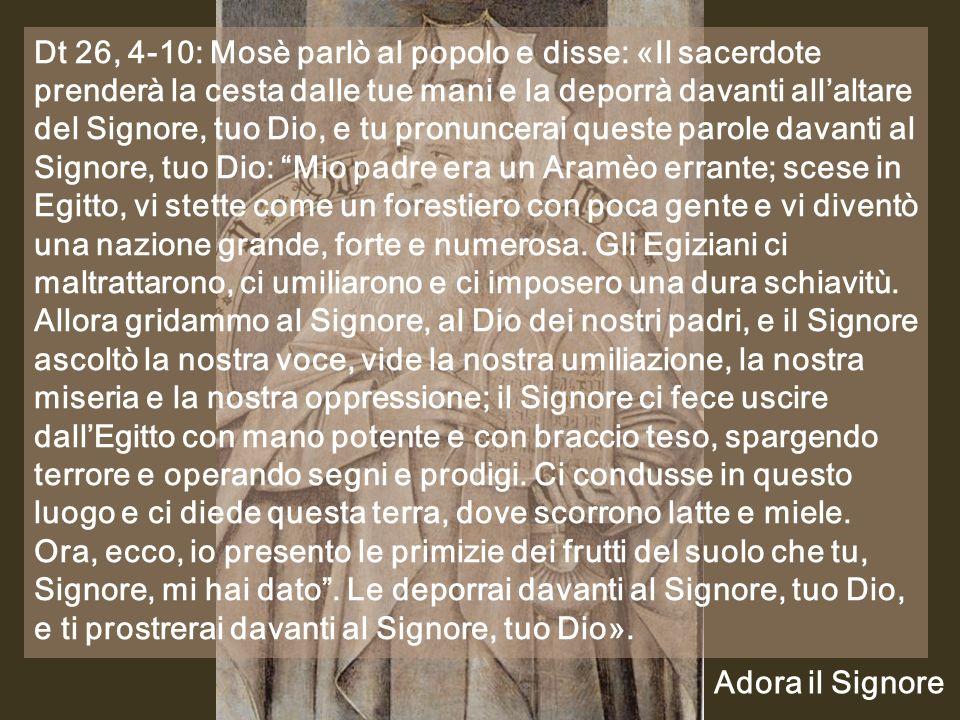 Anno C Prima domenica di Quaresima Prima domenica di Quaresima 17 febbraio 2013 Musica: Lamentazione 2 (Sinagoga ebraica)