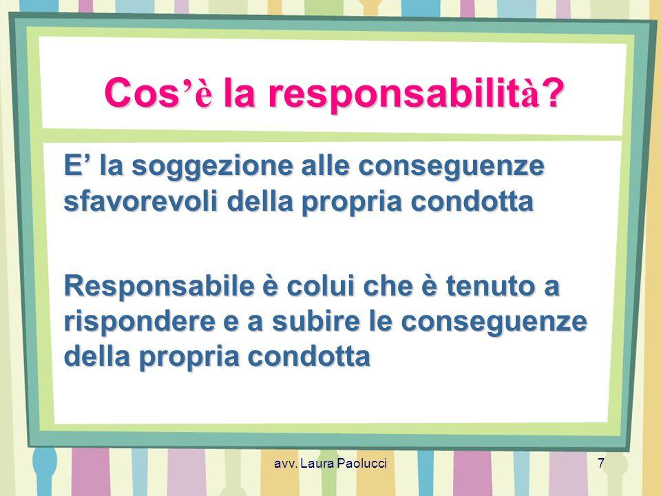 avv.Laura Paolucci8 Quali sono le fonti giuridiche.