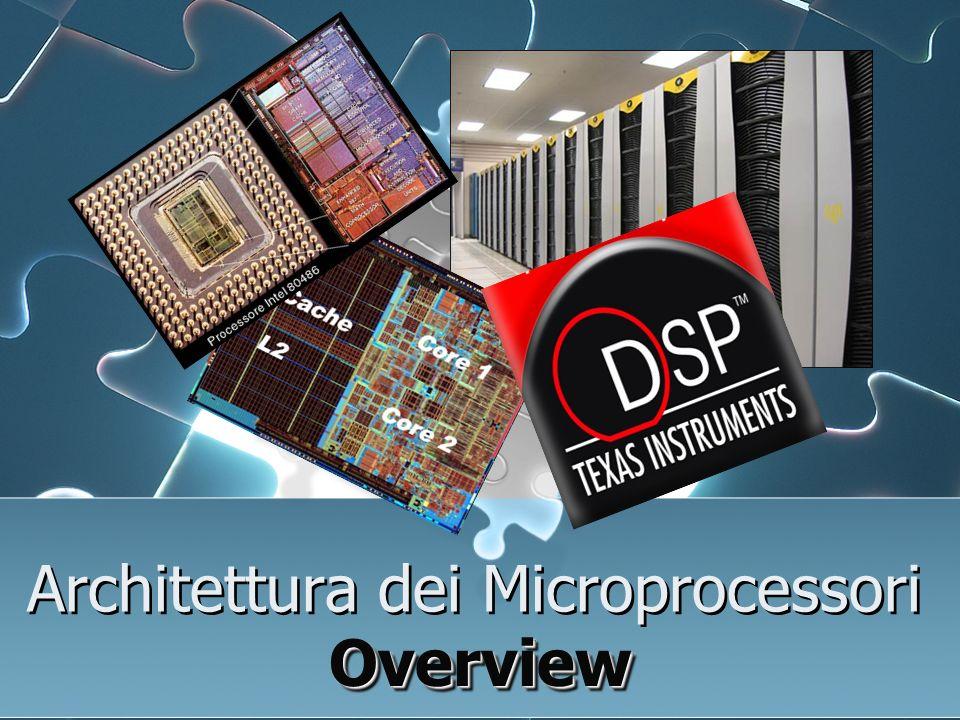 Microprocessore Architettura Von Neumann 1 External MEMORY Microprocessor Data Instruction Lo schema si basa su cinque componenti fondamentali: CPU o unità di lavoro che si divide a sua volta in :CPU 1.
