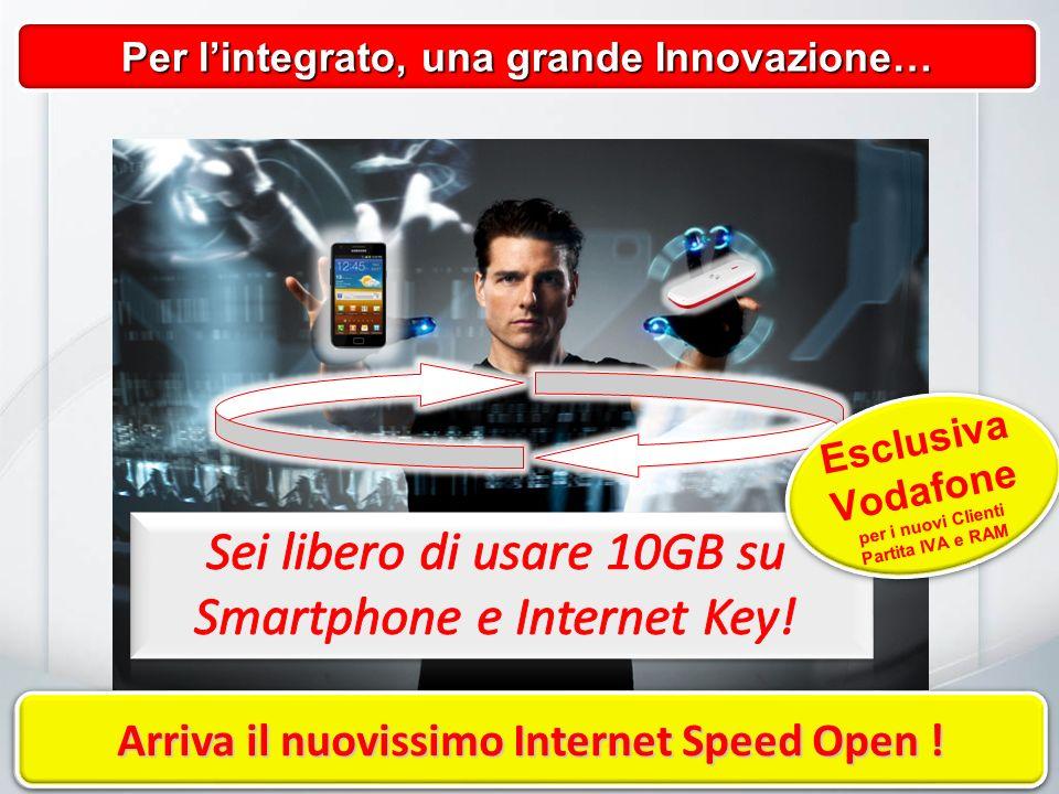 Per lintegrato, una grande Innovazione… Libera la tua voglia di Internet.