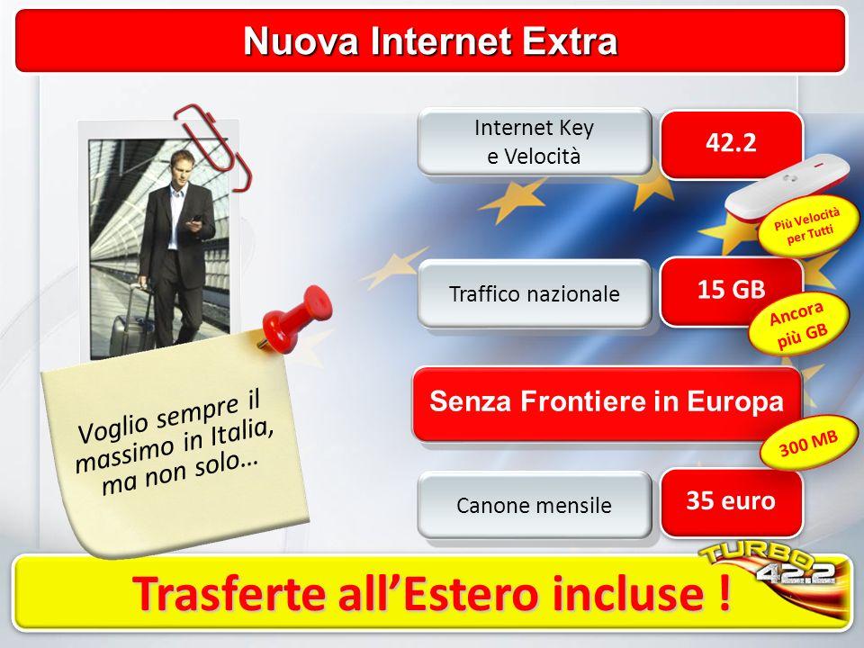 Nuova Internet Extra Trasferte allEstero incluse .