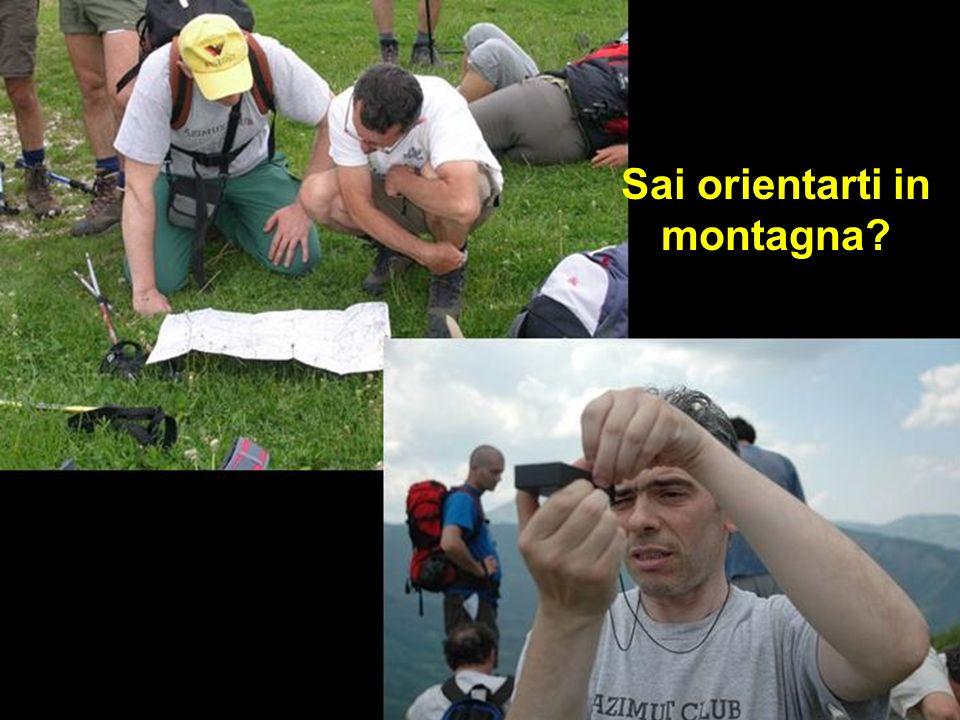 Sai orientarti in montagna