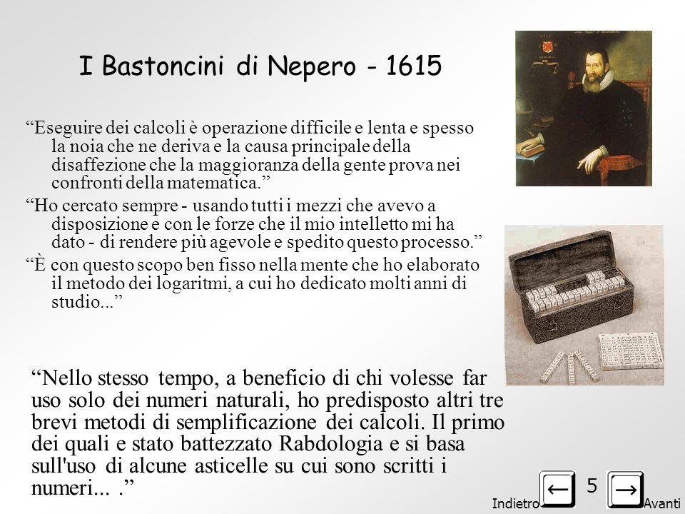 Indietro Avanti 4 Altre immagini della Pascaline di B. Pascal