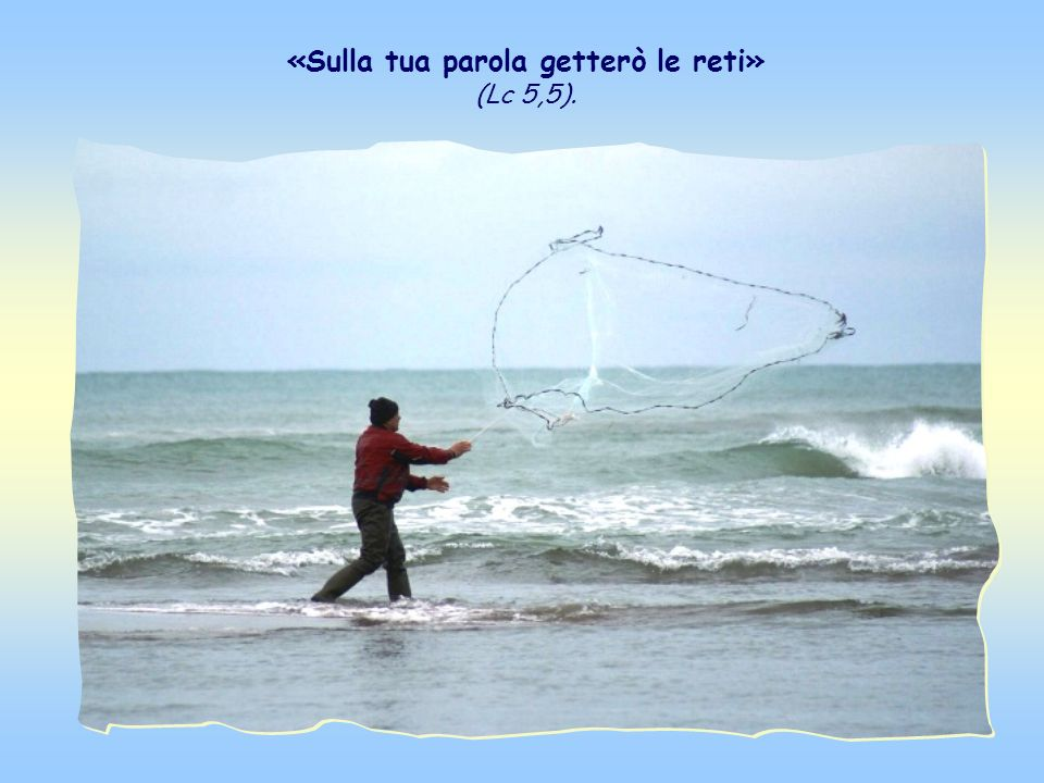 Questo è il racconto della pesca miracolosa, che simboleggia la futura missione degli apostoli. Il comportamento di Pietro è modello non solo per gli