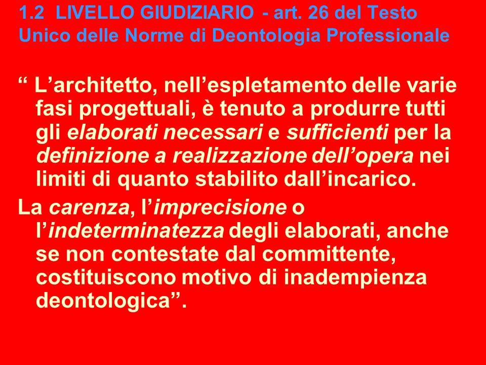 F. Gay, Università IUAV di Venezia, Corso di Laurea in Scienze dellArchitettura - Modulo coordinato di rappresentazione 1 – aa. 2010-2011 1.2 LIVELLO