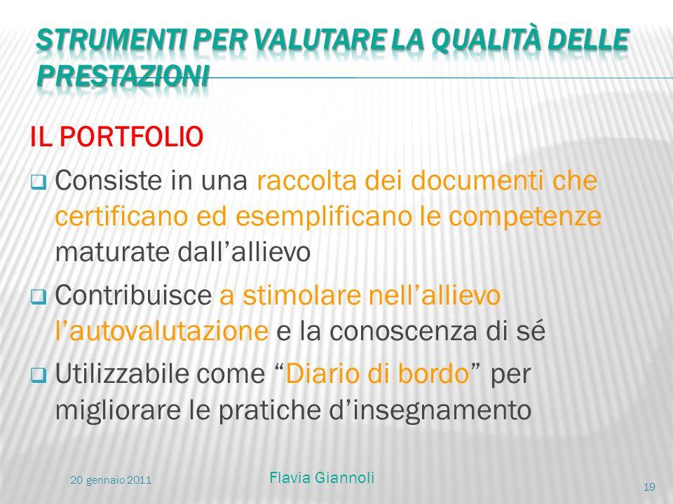 IL PORTFOLIO Consiste in una raccolta dei documenti che certificano ed esemplificano le competenze maturate dallallievo Contribuisce a stimolare nella