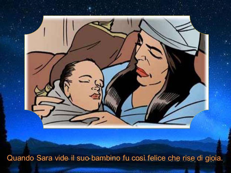 Poi, quando Abramo e Sara, ormai vecchi, avevano quasi rinunciato a sperare, nacque Isacco.