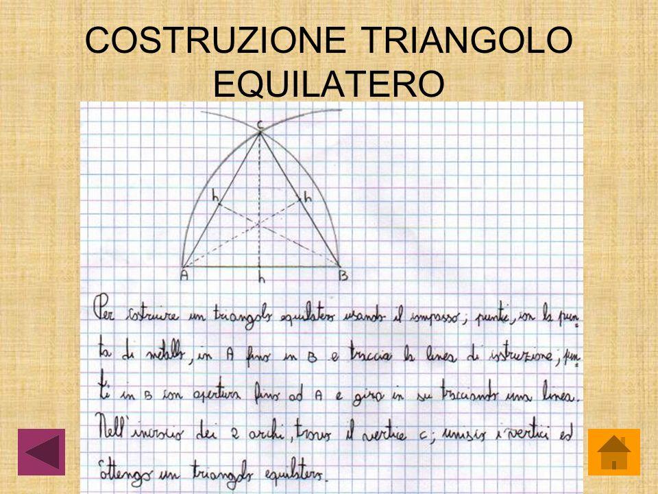 TRIANGOLI Triangolo equilatero