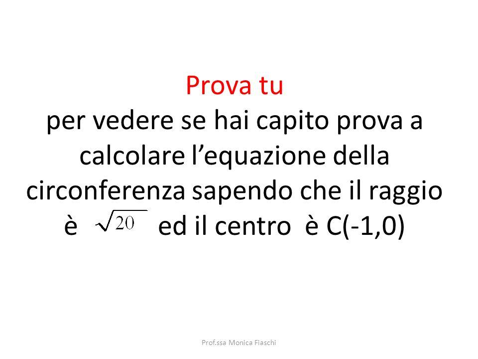 Facciamo i calcoli Attenzione!! Ci sono due quadrati di binomio da risolvere Ordiniamo Prof.ssa Monica Fiaschi