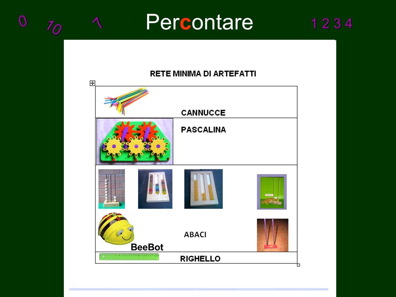 Percontare10 0 7 1 2 3 4 BeeBot