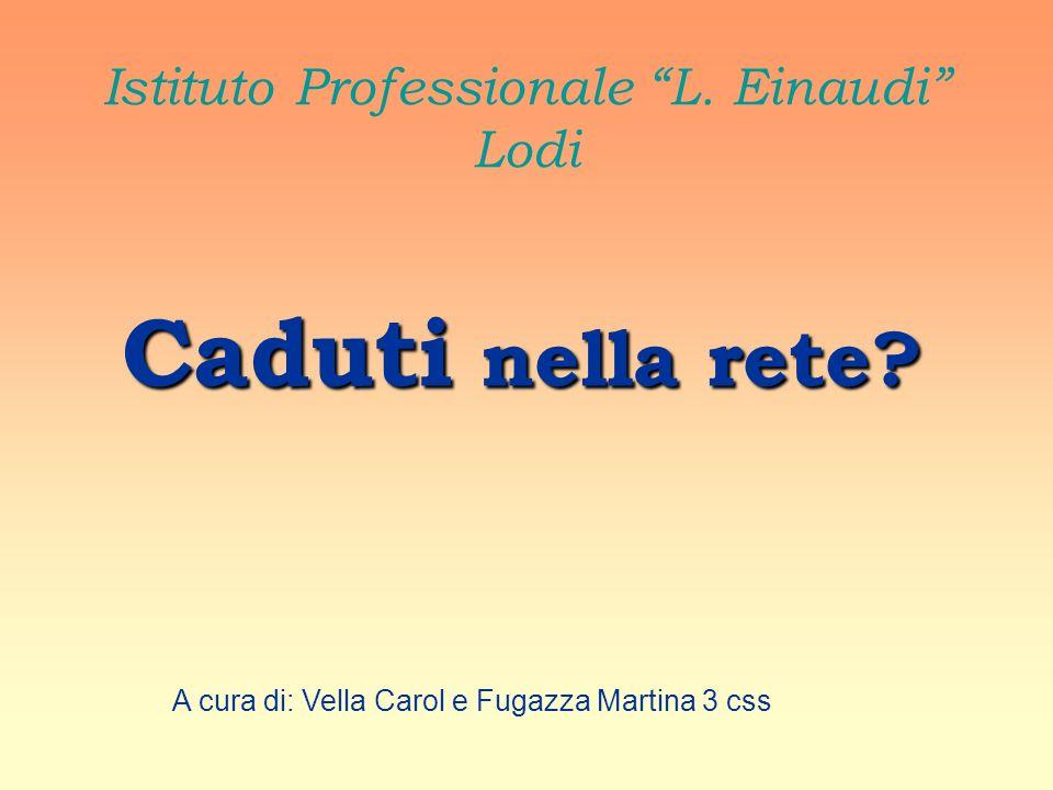 Istituto Professionale L. Einaudi Lodi Caduti nella rete.