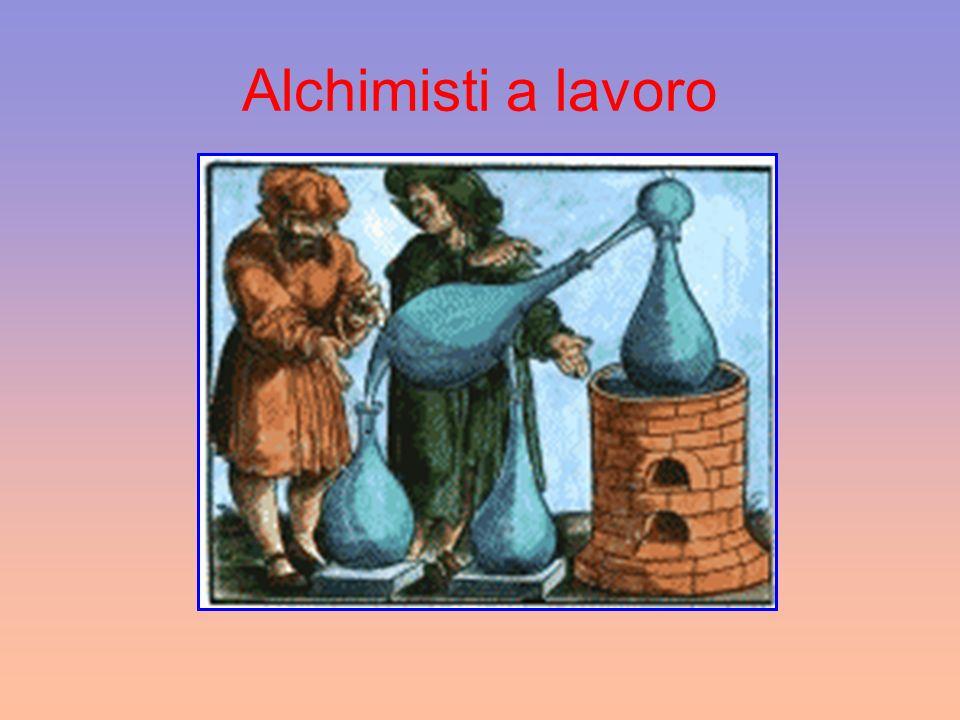 Alchimisti a lavoro