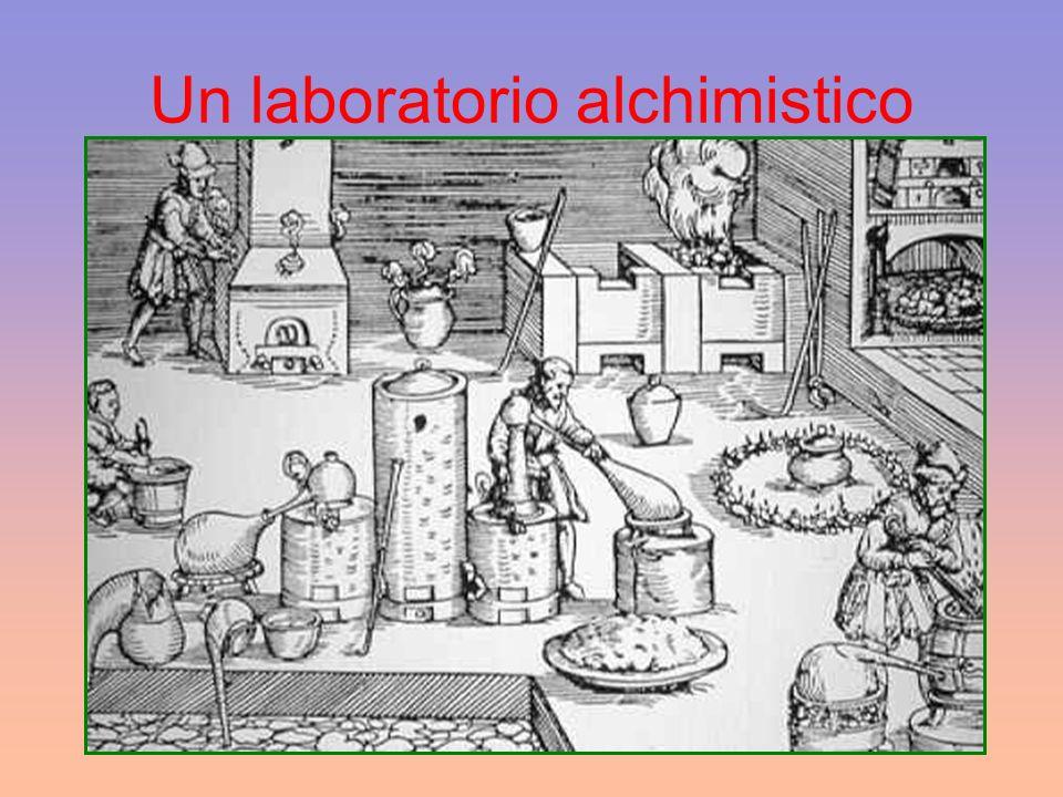 Un laboratorio alchimistico