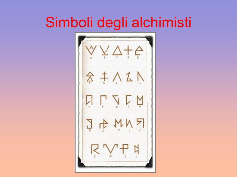 Simboli degli alchimisti