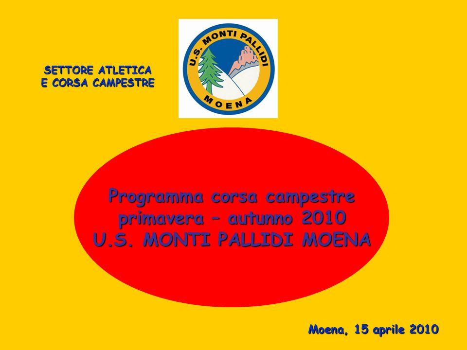 Presentazione corsa campestre primavera – autunno 2010 U.S. MONTI PALLIDI - MOENA - Video by Armin con collaborazione Luca Riz Foto: by fotografi impr