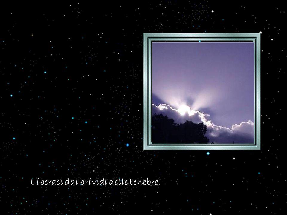 e sovrastano sulla nostra esistenza il cielo nero degli affanni, o il freddo delle delusioni o l'ala severa della morte.