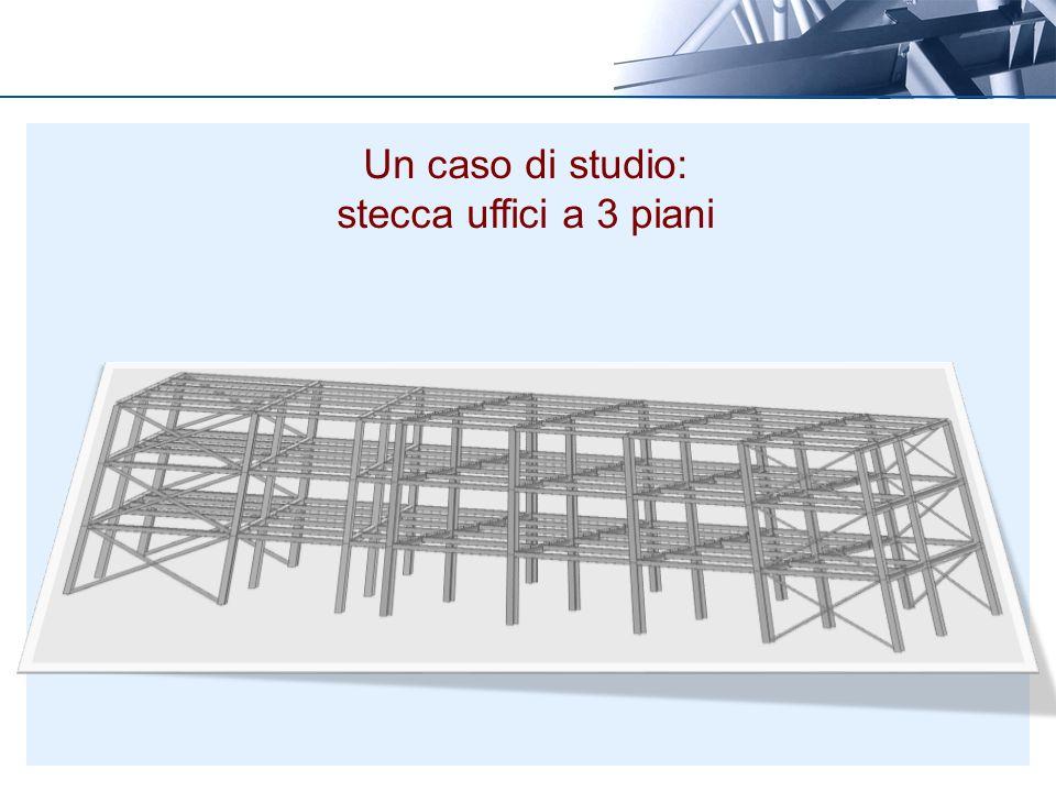 Un caso di studio: stecca uffici a 3 piani