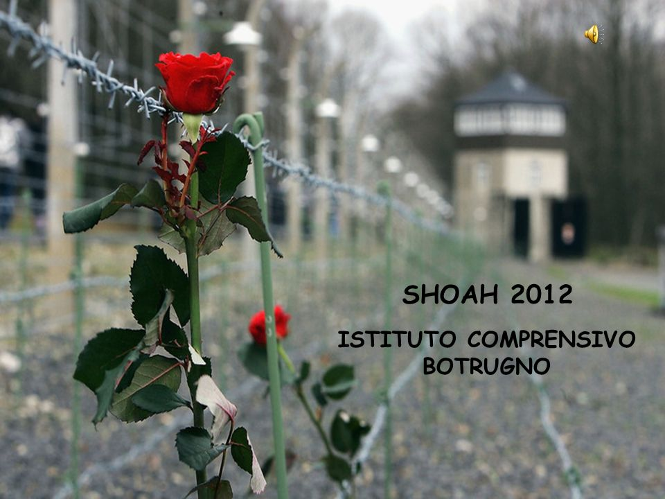 ISTITUTO COMPRENSIVO BOTRUGNO SHOAH 2012