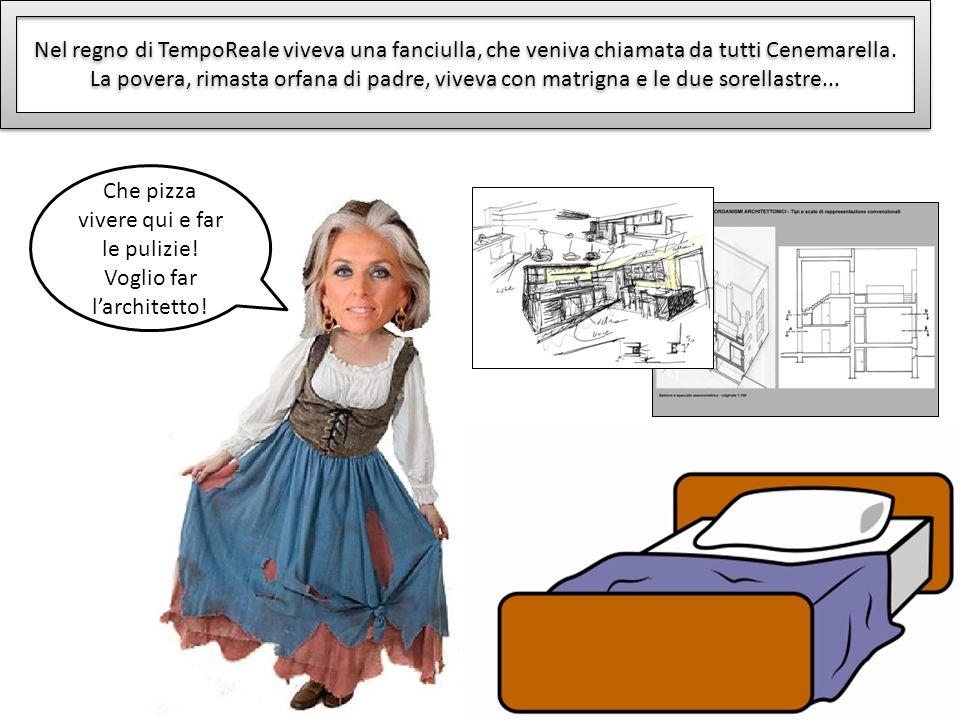 Nel regno di TempoReale viveva una fanciulla, che veniva chiamata da tutti Cenemarella. La povera, rimasta orfana di padre, viveva con matrigna e le d
