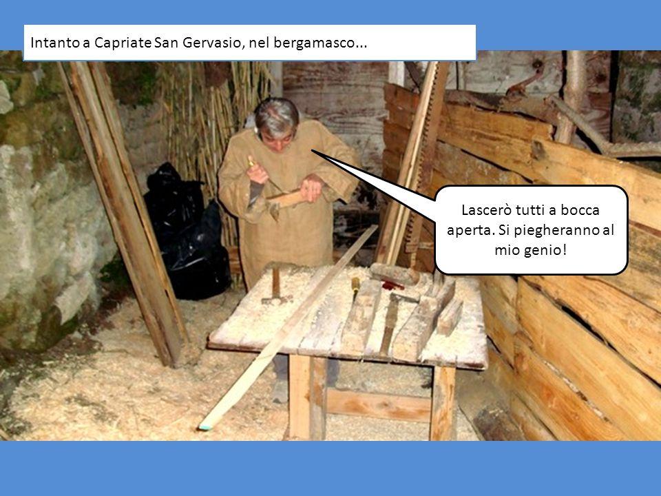 Intanto a Capriate San Gervasio, nel bergamasco...