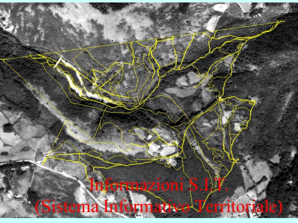 4 Informazioni S.I.T. (Sistema Informativo Territoriale)