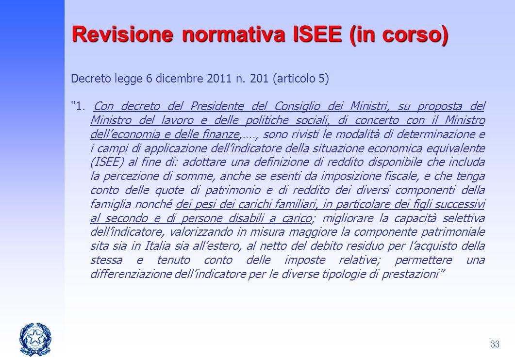 33 Decreto legge 6 dicembre 2011 n. 201 (articolo 5)