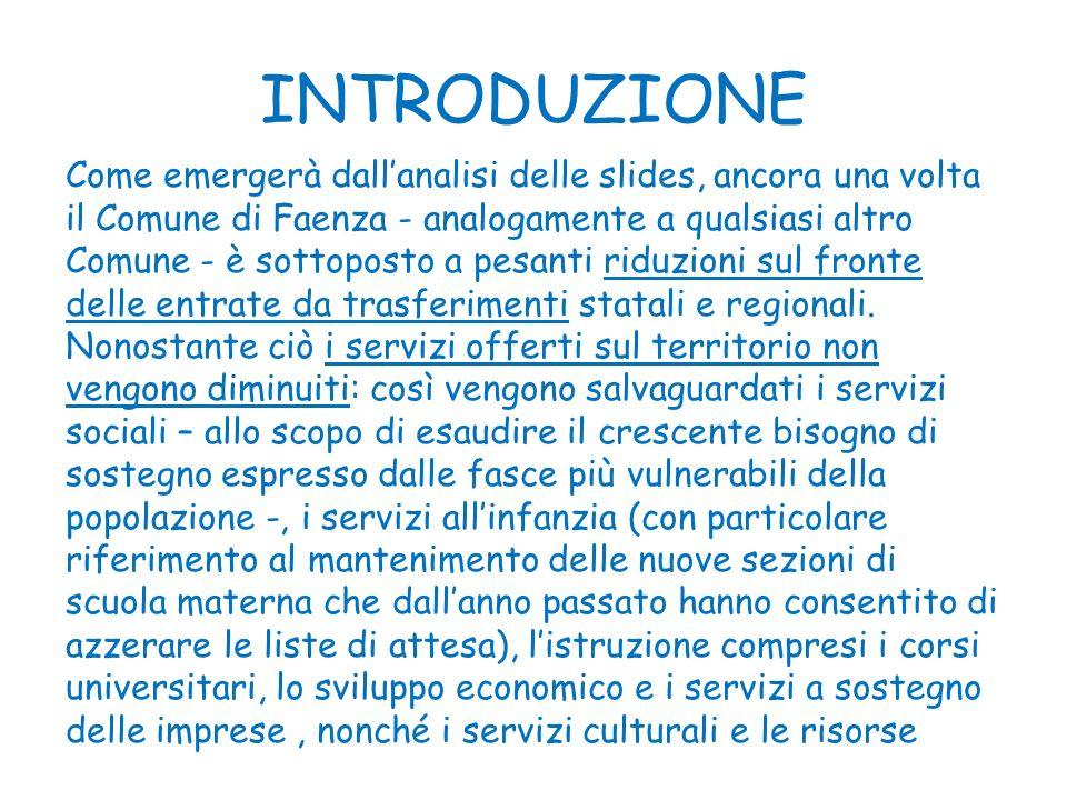 PROPOSTA BILANCIO DI PREVISIONE PER LANNO 2013 pag.33 ENTRATE CORRENTI: Le scelte dellAmministrazione