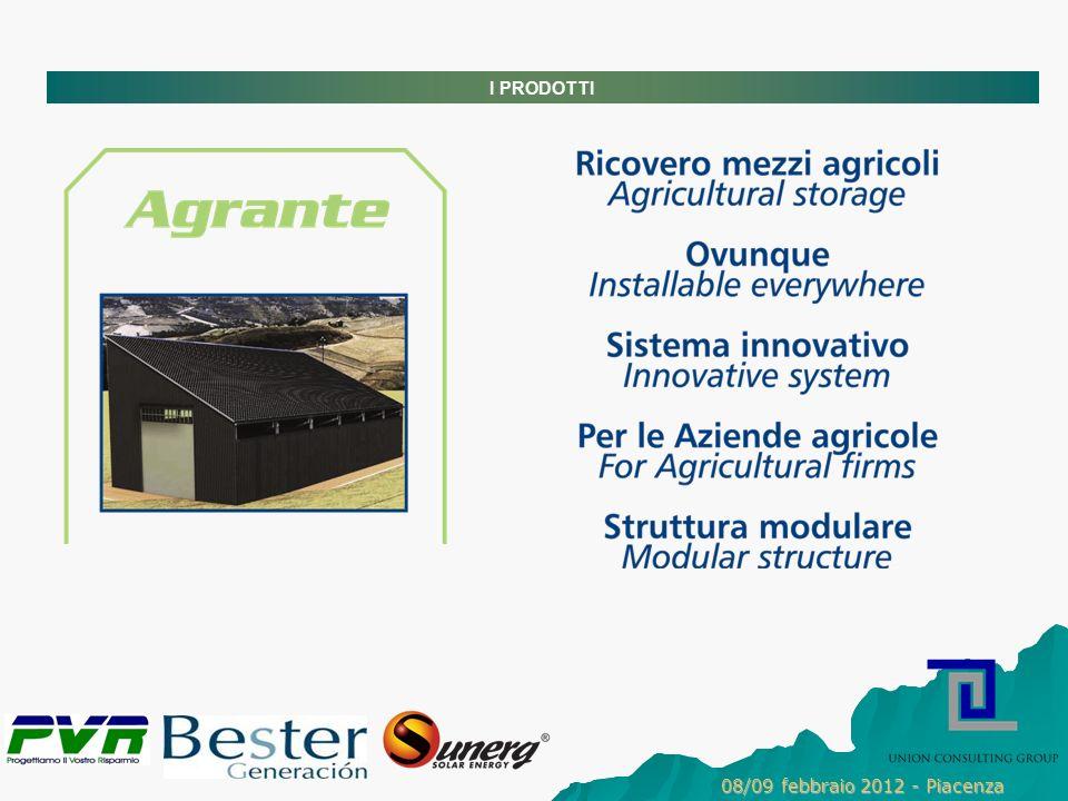 I PRODOTTI 08/09 febbraio 2012 - Piacenza