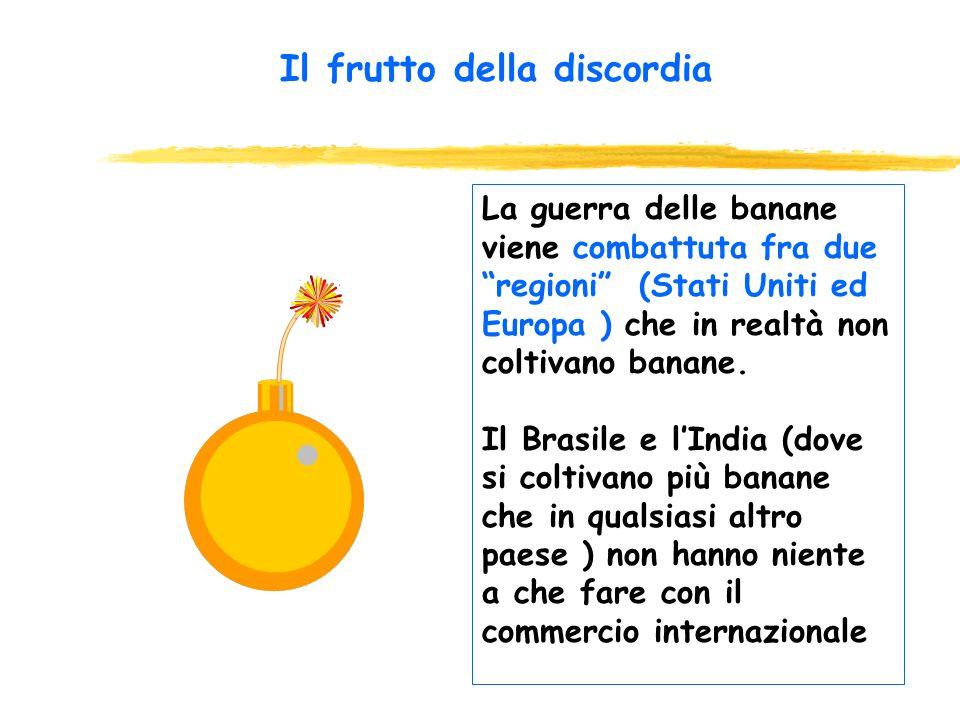 Banane al WTO La guerra delle banane